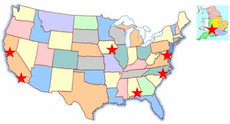The Mucociliary Clearance Consortium consists of 9 research groups in five states and England.